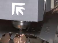 platino fiber laser cutting video
