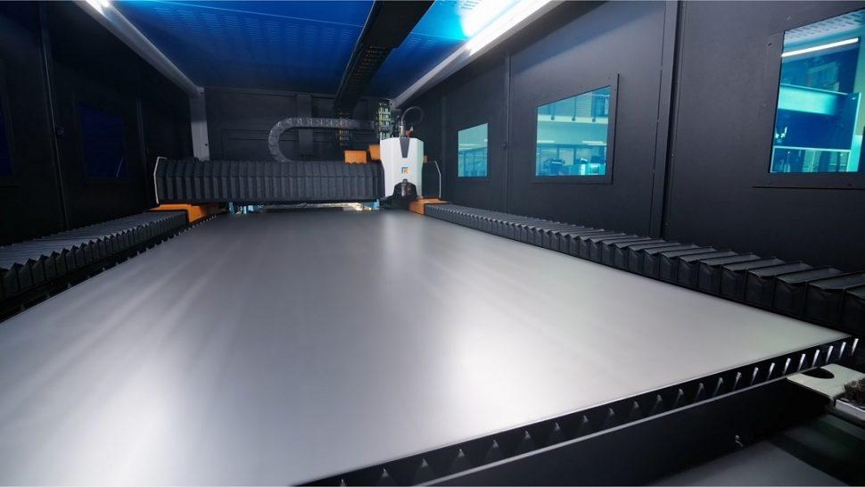 Prima Power Laser Genius+ inside cabin